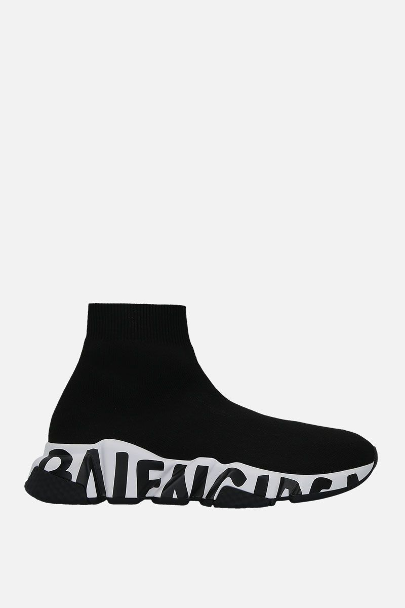 BALENCIAGA: Speed stretch knit trainers_1