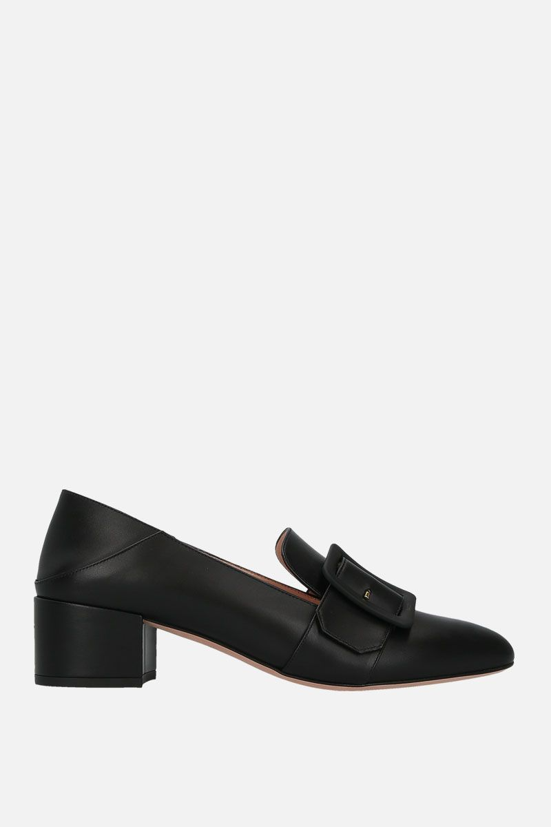 BALLY: Janelle pumps in smooth leather Color Black_1