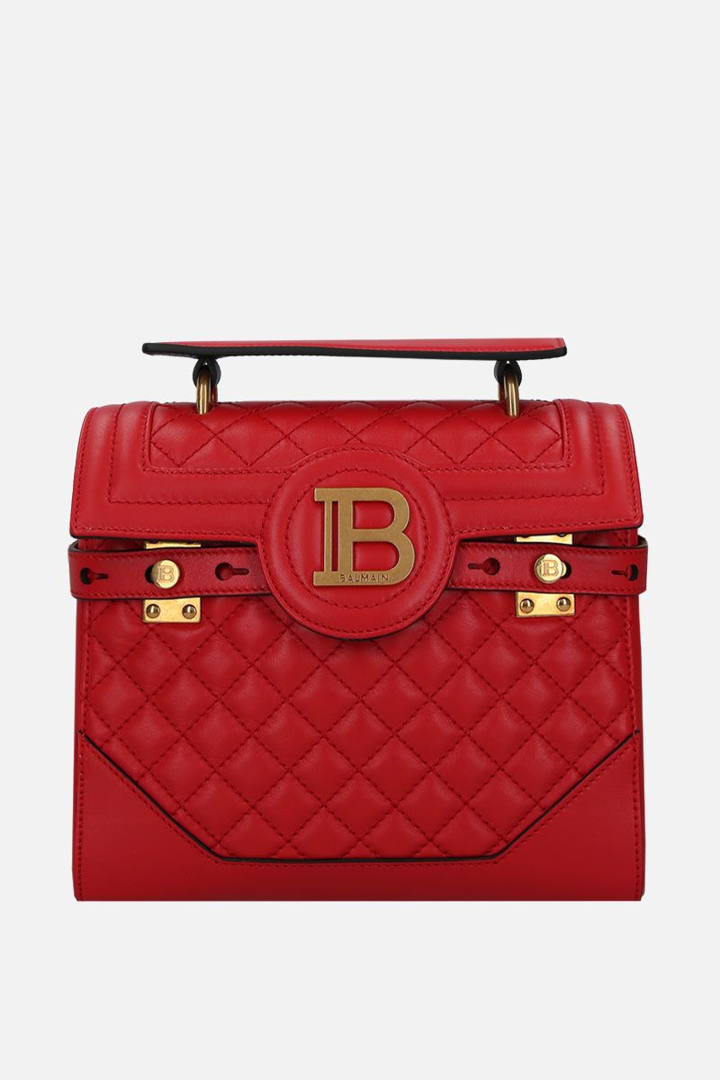 BALMAIN: B-Buzz 23 handbag in quilted leather_1