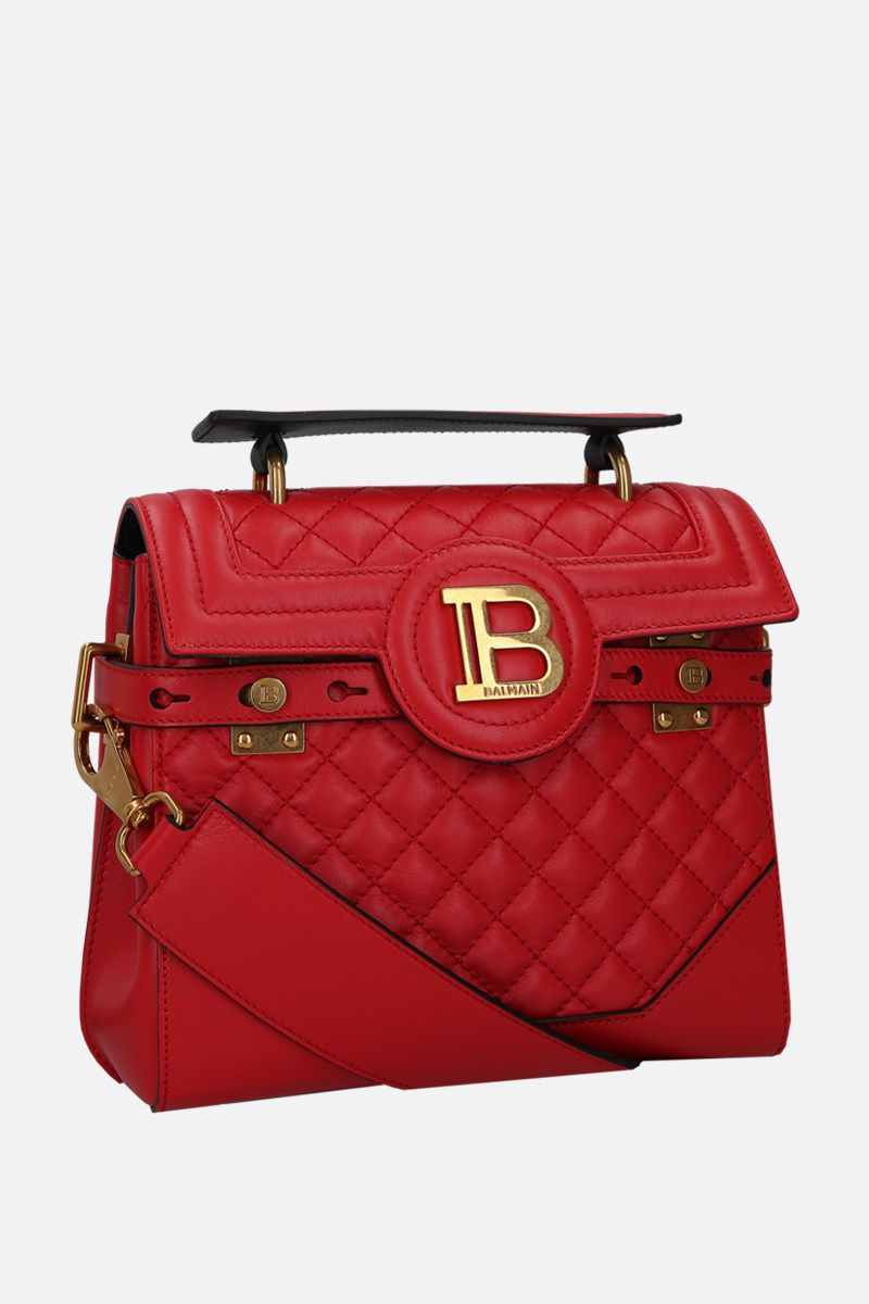 BALMAIN: B-Buzz 23 handbag in quilted leather_2