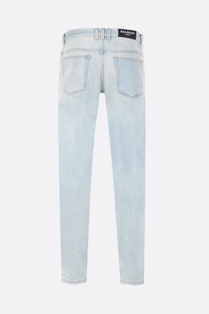 BALMAIN: slim-fit jeans Color Blue_2