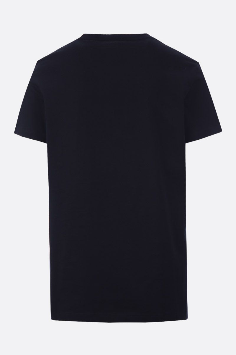 BALMAIN: Balmain Paris print jersey t-shirt Color Black_2