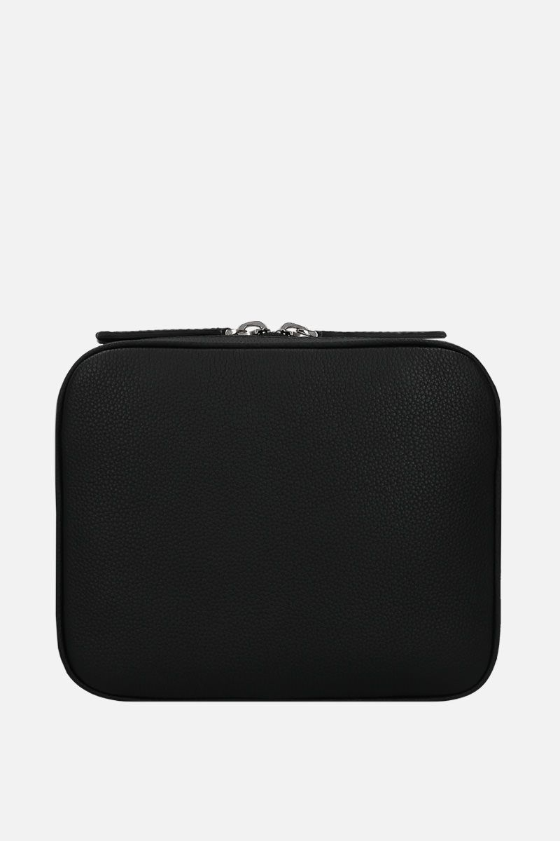 BERLUTI: Scritto and grainy leather messenger bag_2