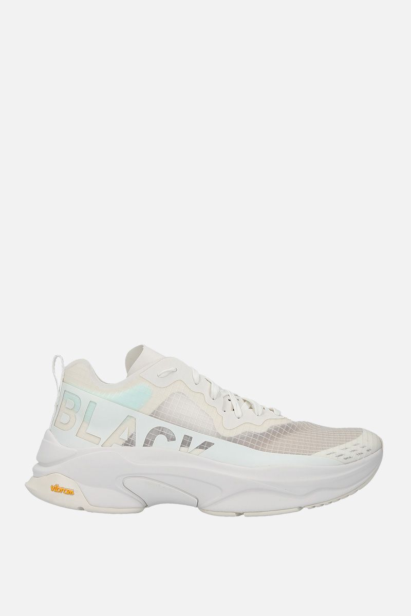 BRANDBLACK: Kite Racer tech fabric sneakers Color White_1