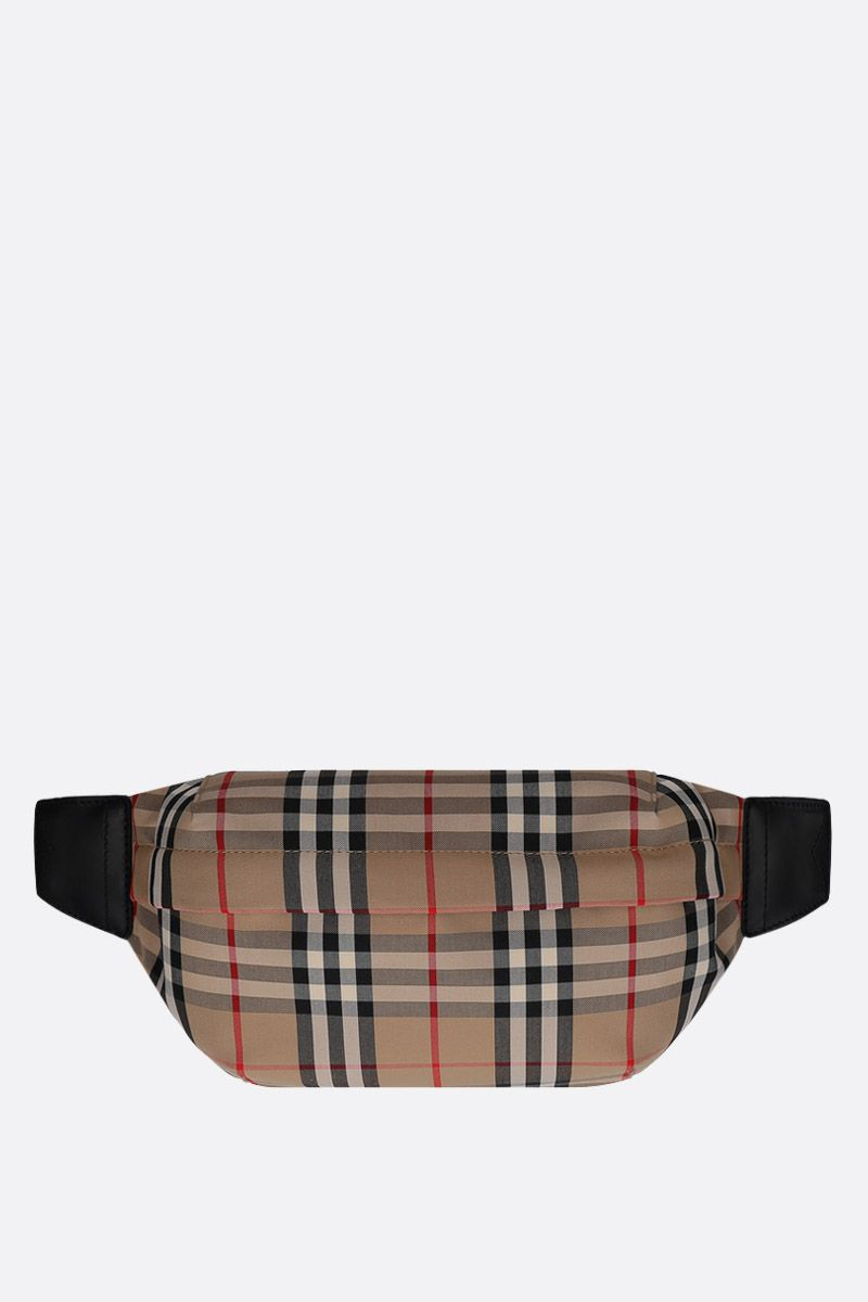 BURBERRY: Sonny belt bag in Vintage check nylon_1