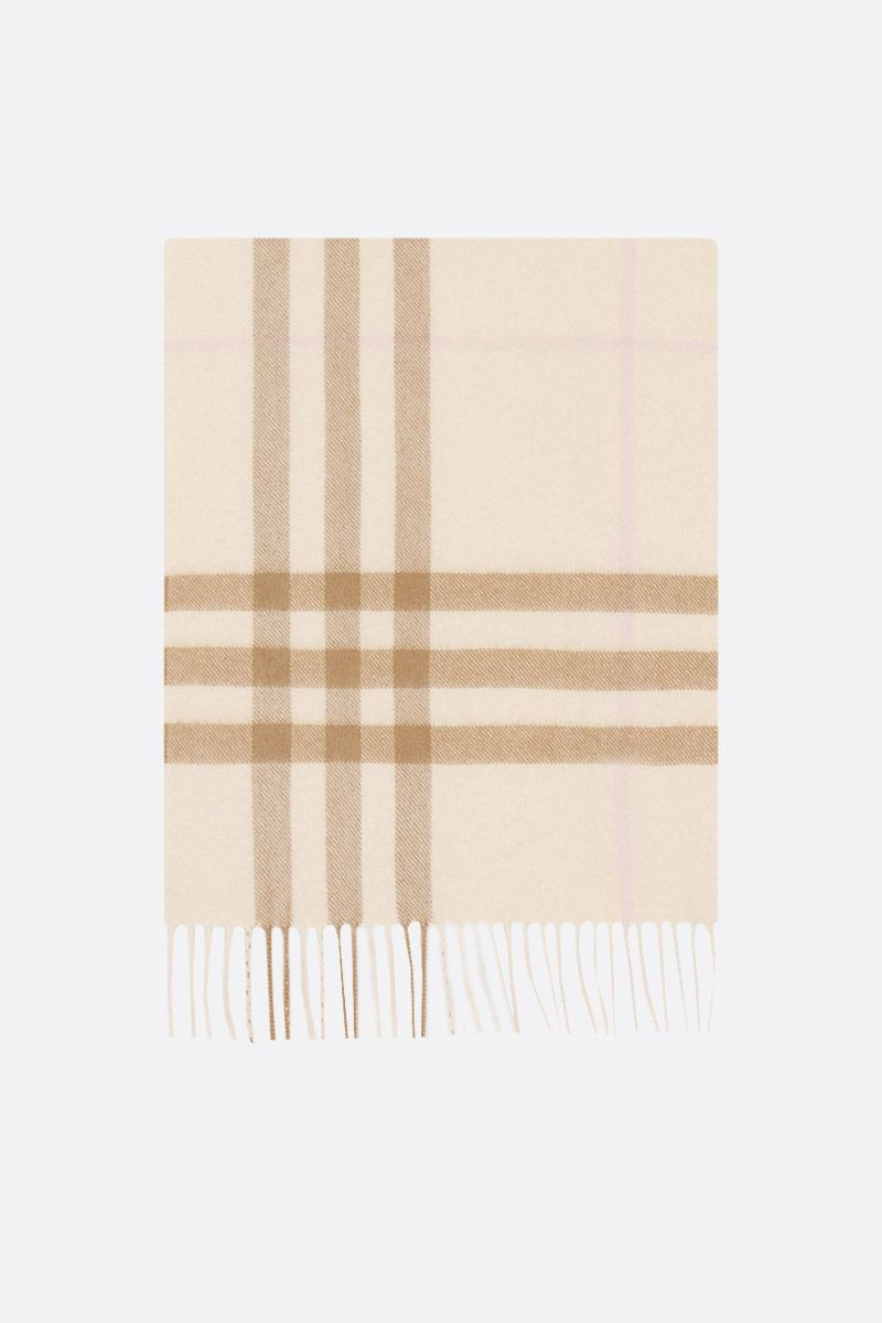 BURBERRY: sciarpa in cashmere a motivo Giant check_1