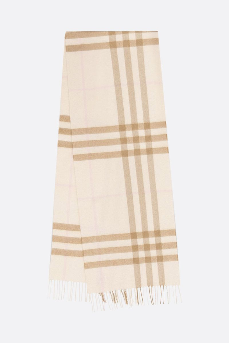 BURBERRY: sciarpa in cashmere a motivo Giant check_2