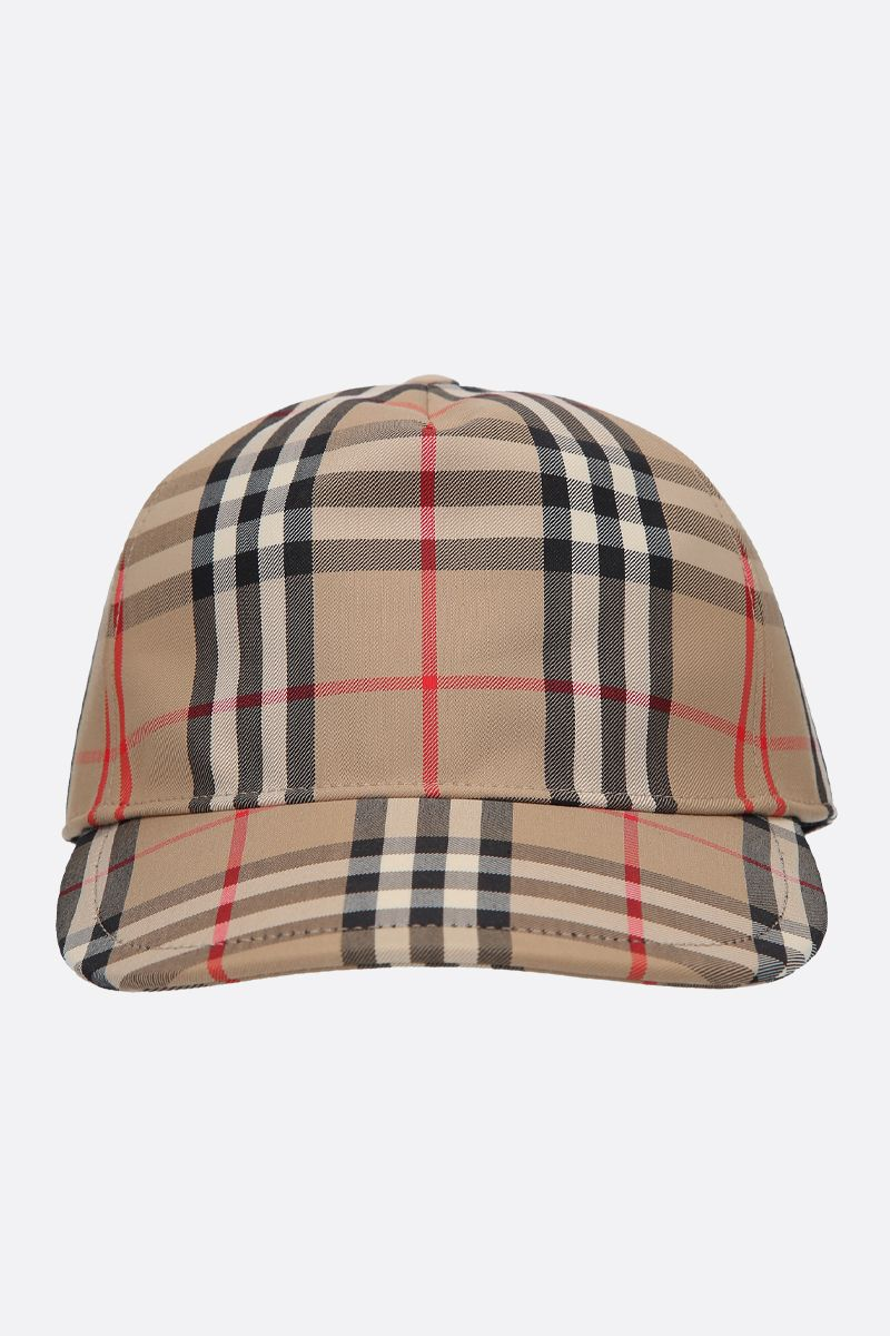 BURBERRY: cappellino baseball Trucker in canvas_1