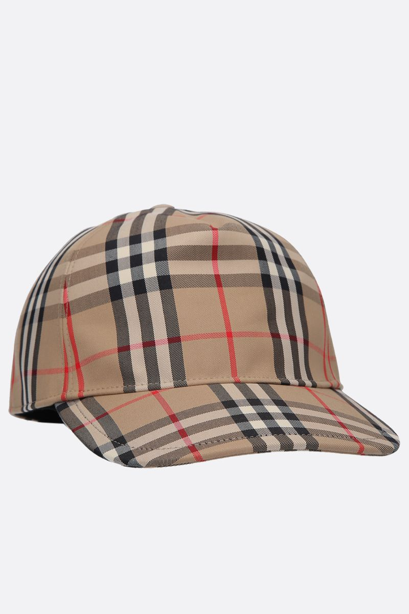 BURBERRY: cappellino baseball Trucker in canvas_2