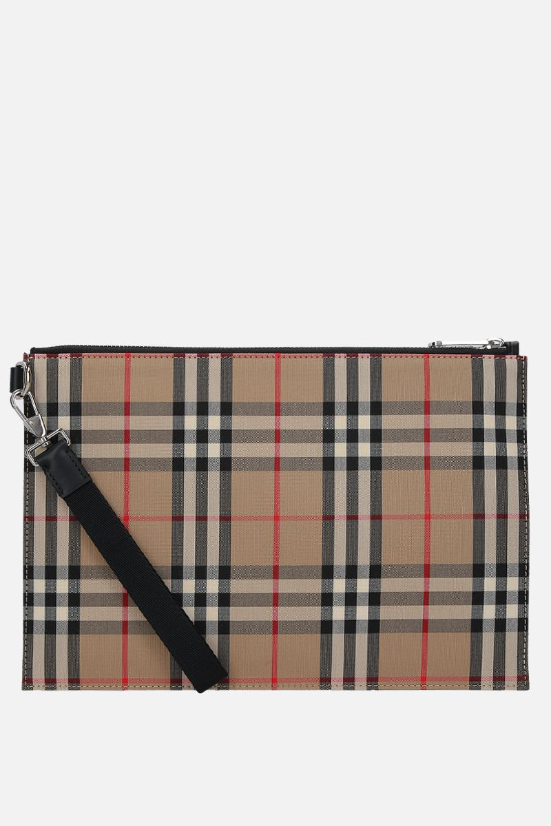 BURBERRY: busta in canvas Vintage check_1