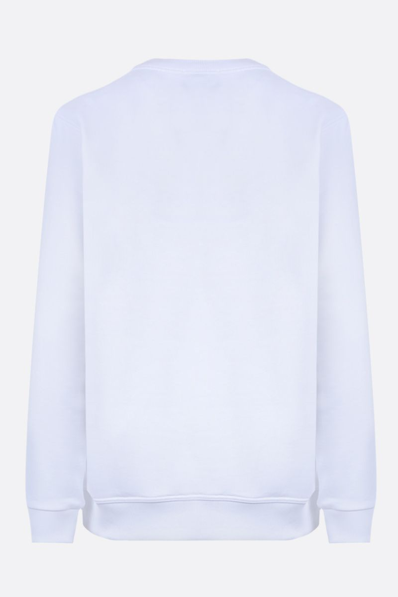 BURBERRY: Fairhall cotton sweatshirt Color White_2