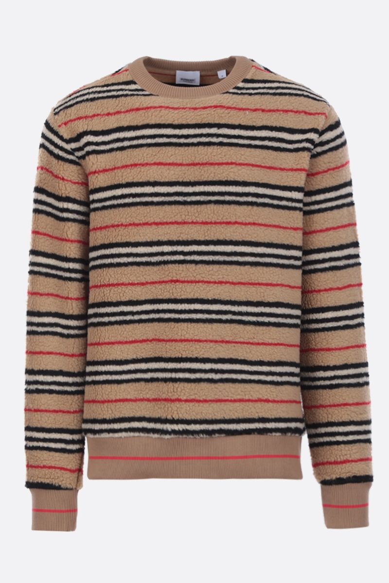 BURBERRY: Edson sweatshirt in tactile fleece_1