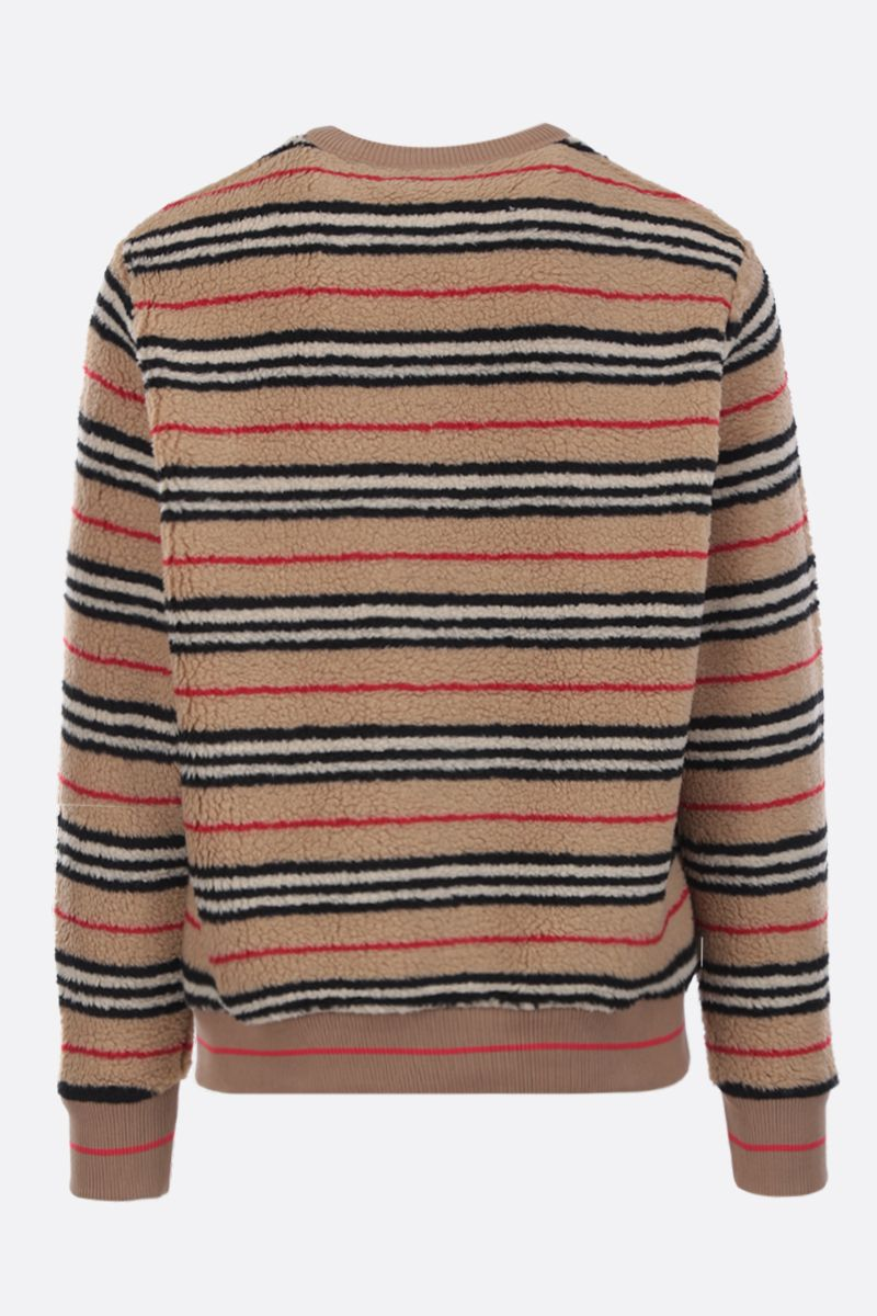 BURBERRY: Edson sweatshirt in tactile fleece_2