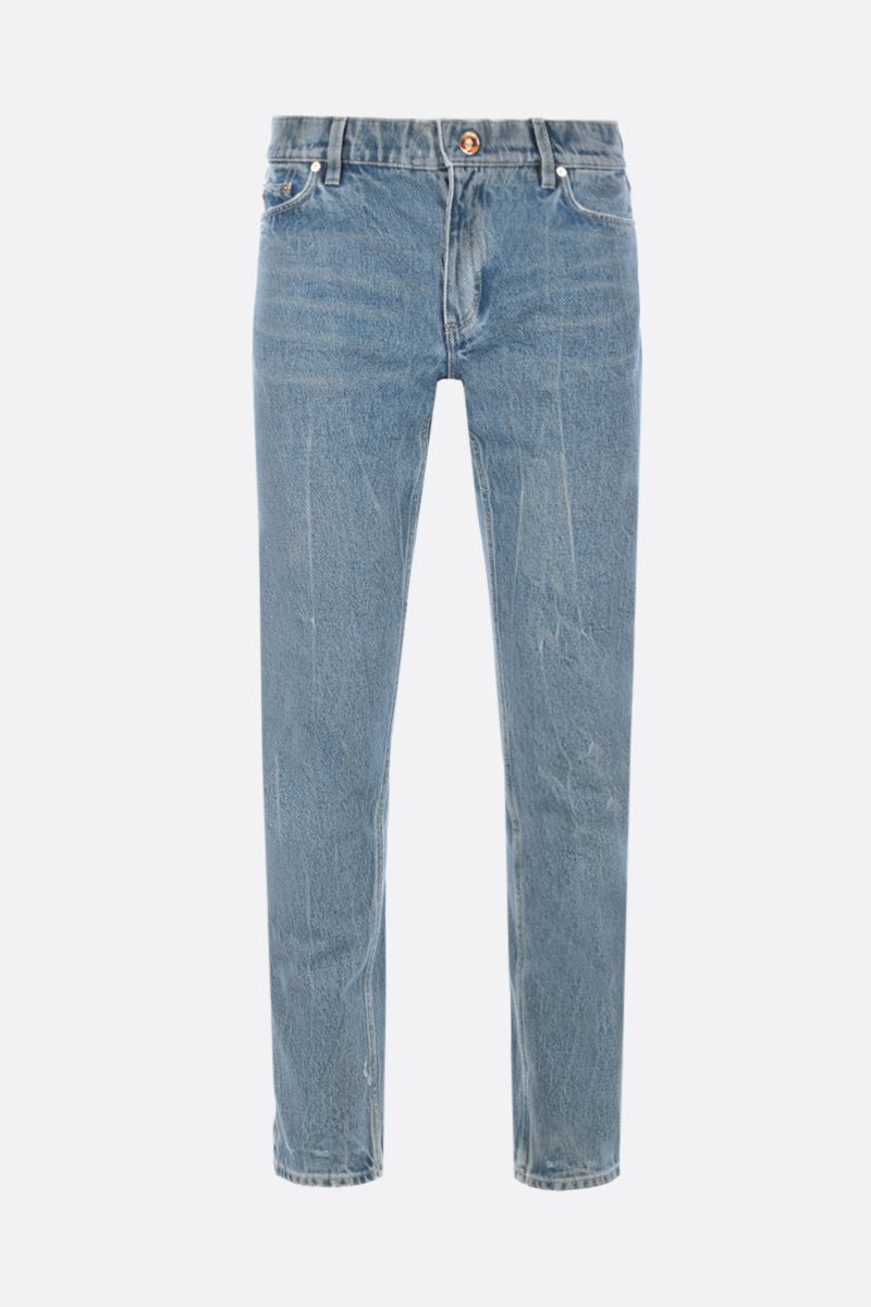 BURBERRY: jeans straight-fit Colore Blu_1