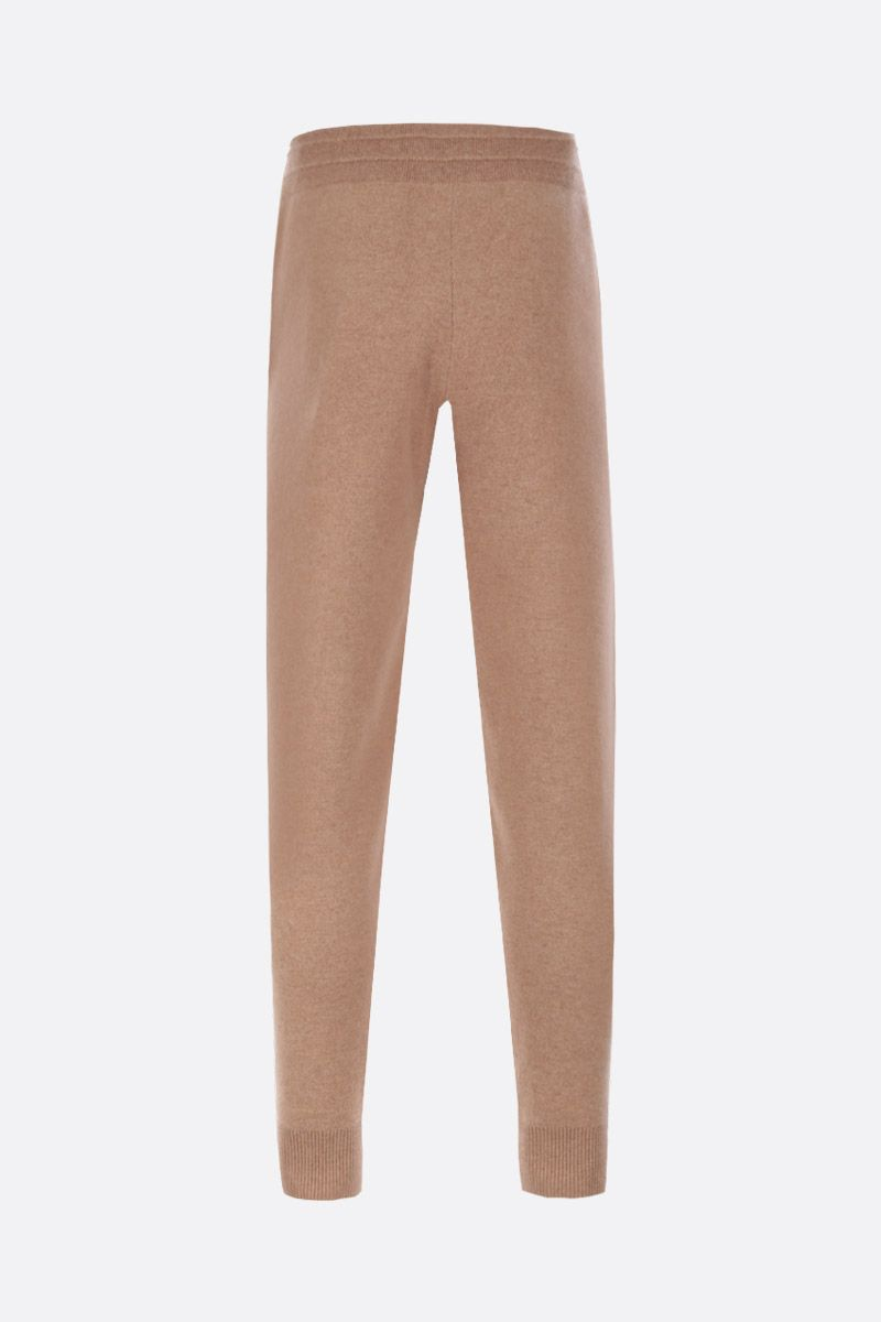 BURBERRY: Hunton jogging pants in cashmere Color Brown_2