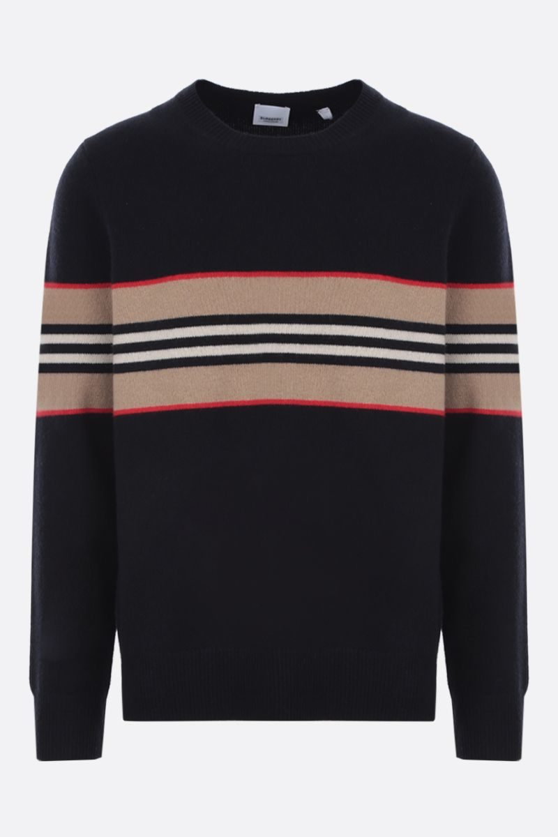 BURBERRY: Furlong cashmere pullover Color Black_1