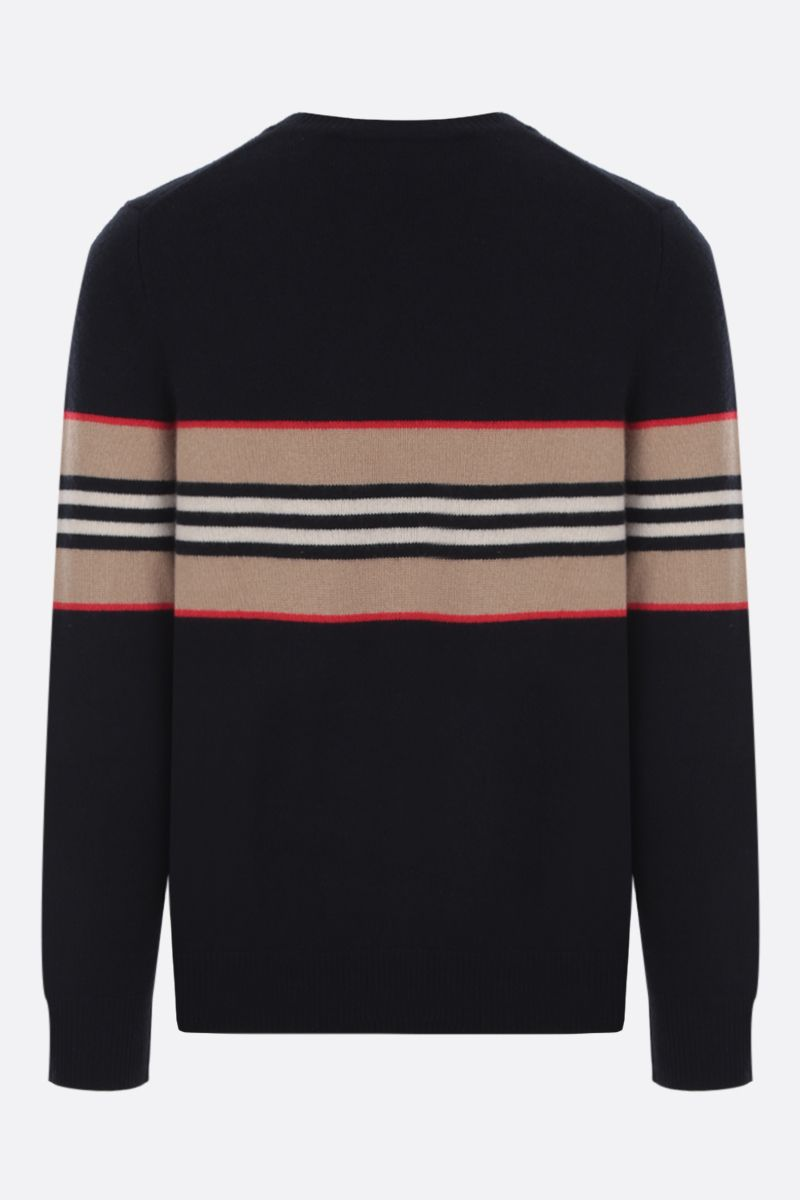 BURBERRY: Furlong cashmere pullover Color Black_2