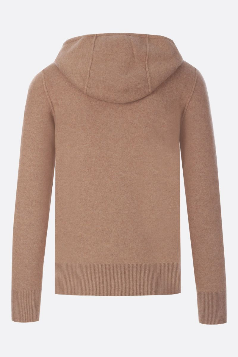 BURBERRY: Lindlay hooded pullover in cashmere Color Brown_2