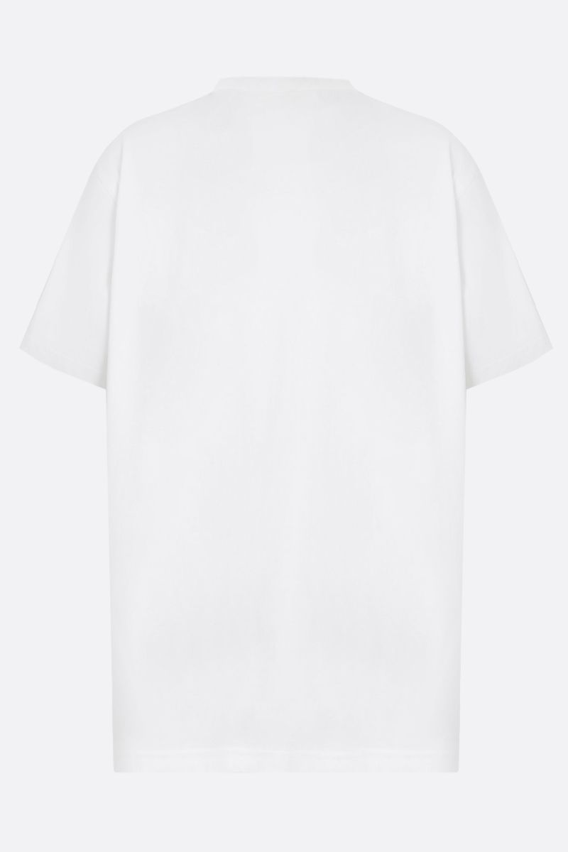BURBERRY: Karlford cotton t-shirt Color White_2