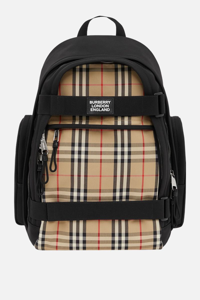 BURBERRY: Nevis large backpack in nylon_1