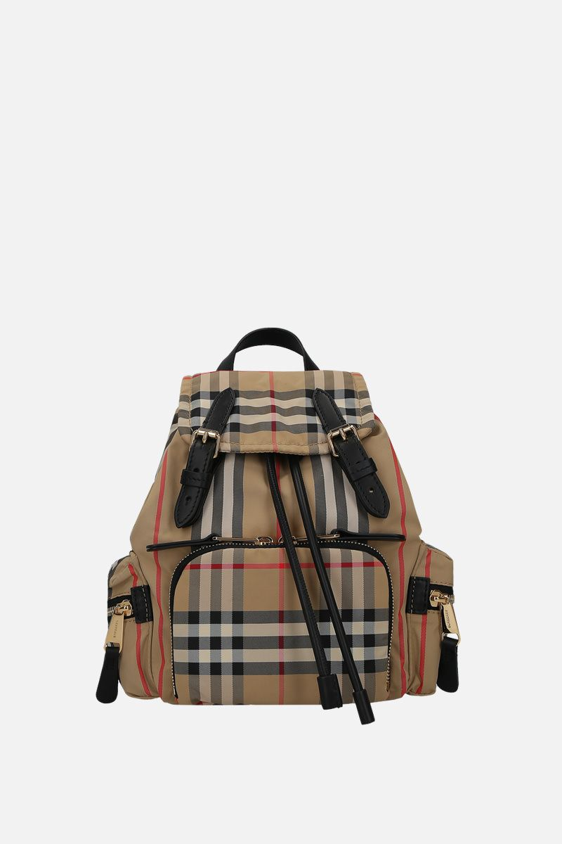 BURBERRY: The Rucksack small nylon backpack_1
