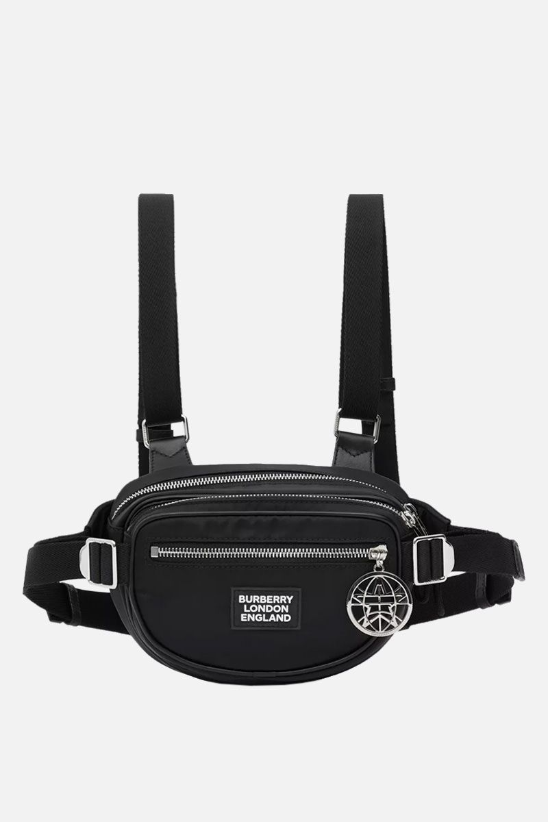 BURBERRY: Cannon belt pack in ECONYL® Color Black_1