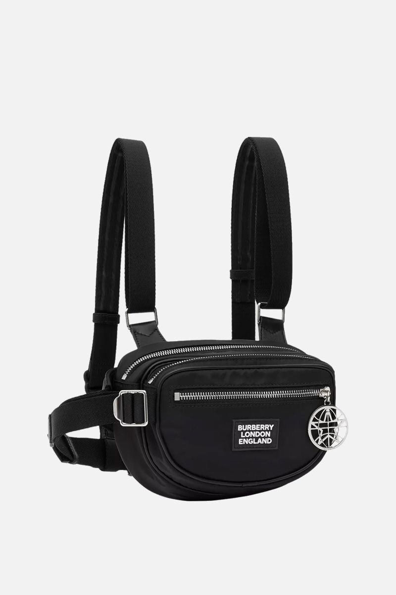 BURBERRY: Cannon belt pack in ECONYL® Color Black_2