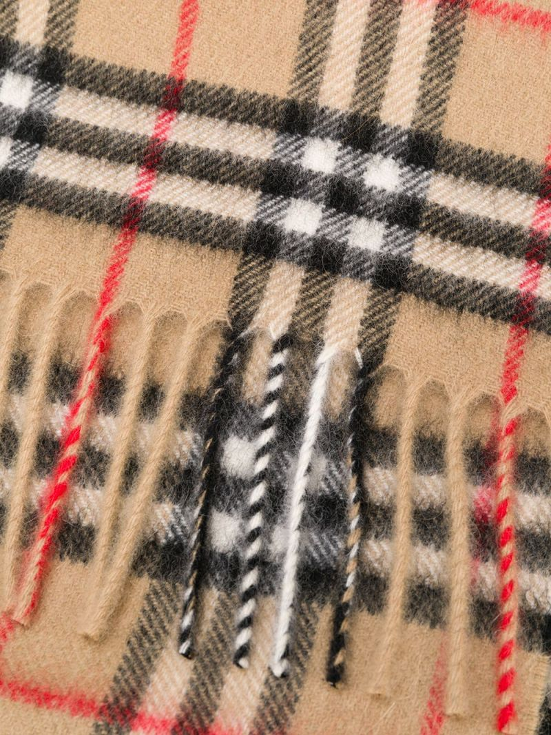 BURBERRY CHILDREN: Vintage check cashmere scarf_2