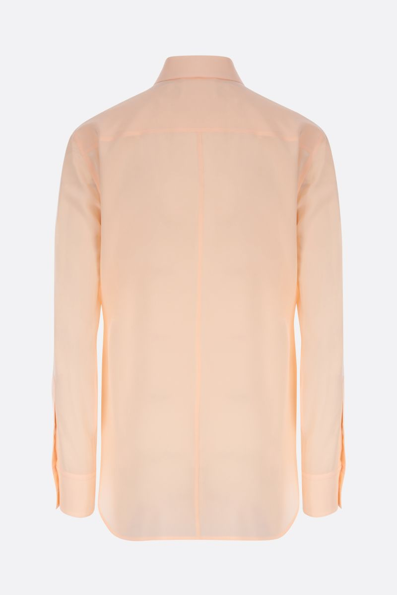 CHLOÈ: lavallière silk shirt Color Pink_3