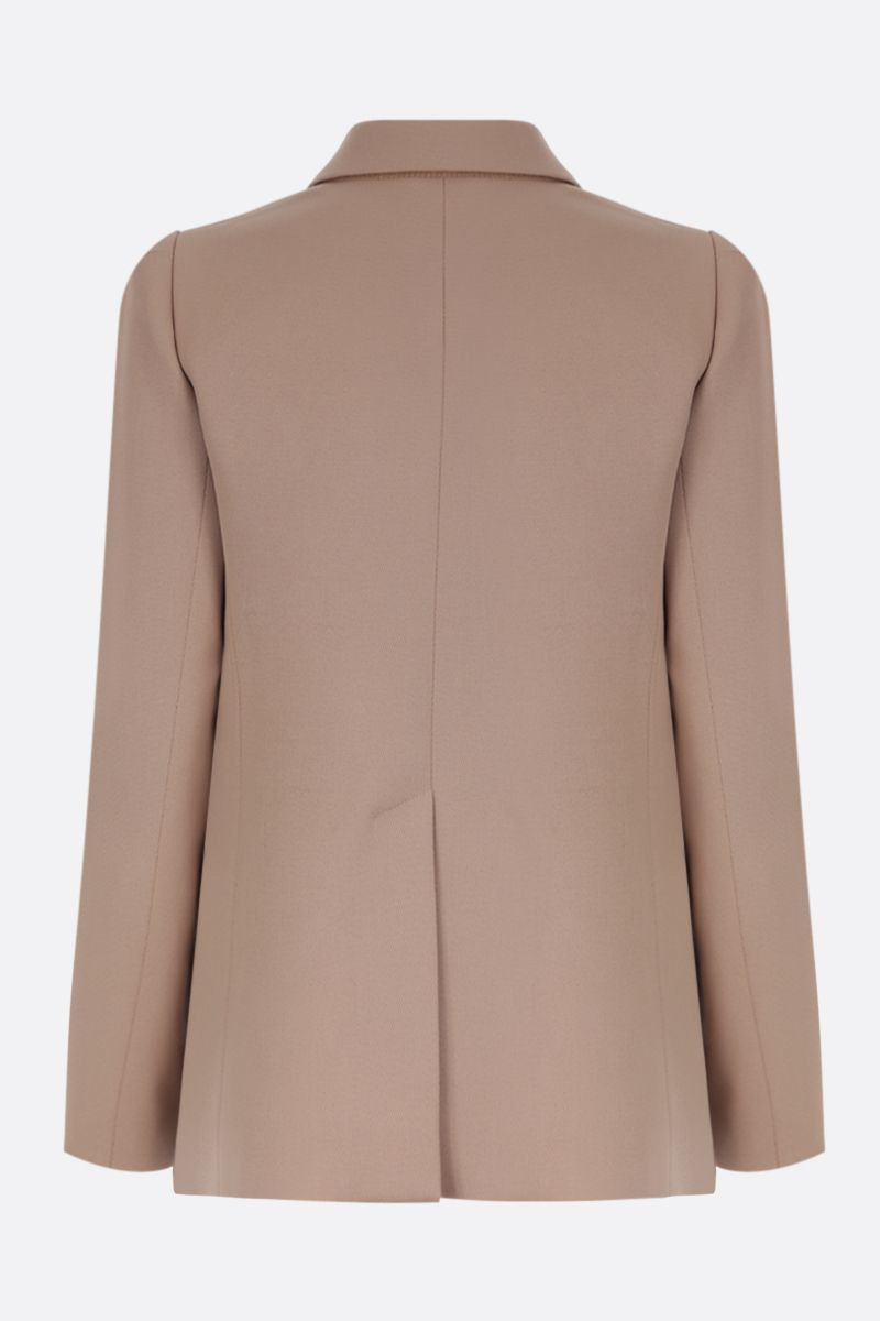 CHLOÈ: double-breasted jacket in stretch wool_2