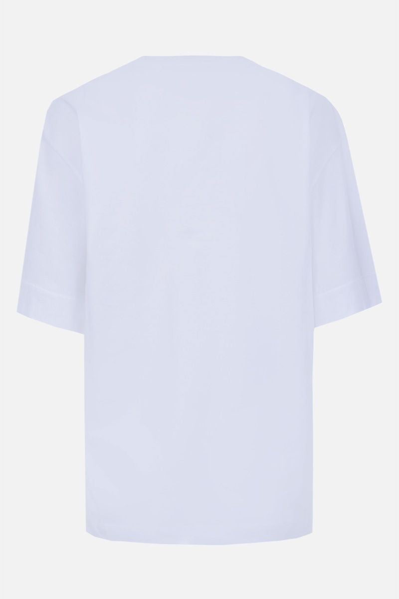 CHLOÈ: logo print cotton t-shirt Color Multicolor_2