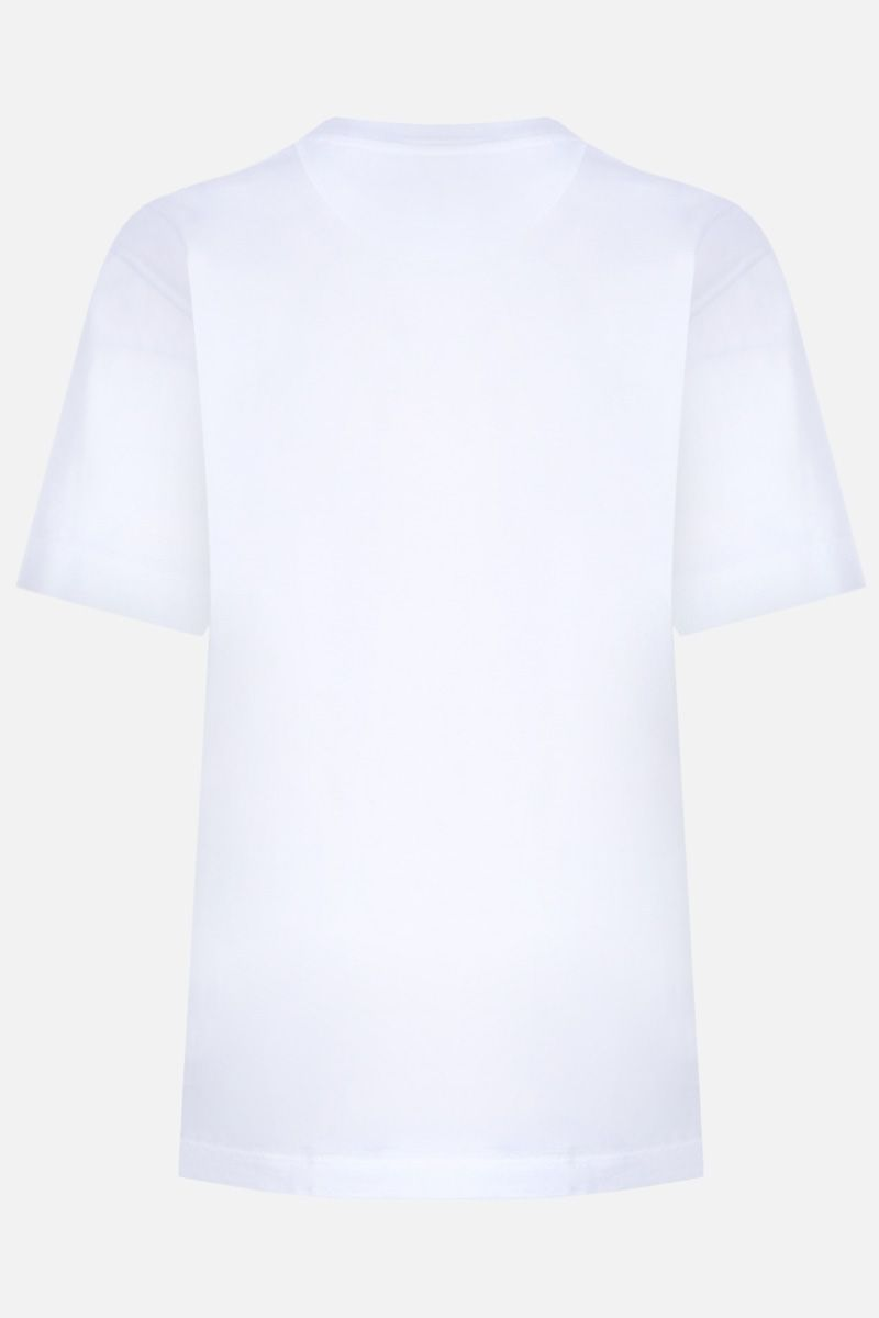 CHLOÈ: Citrus print cotton oversize t-shirt Color White_2