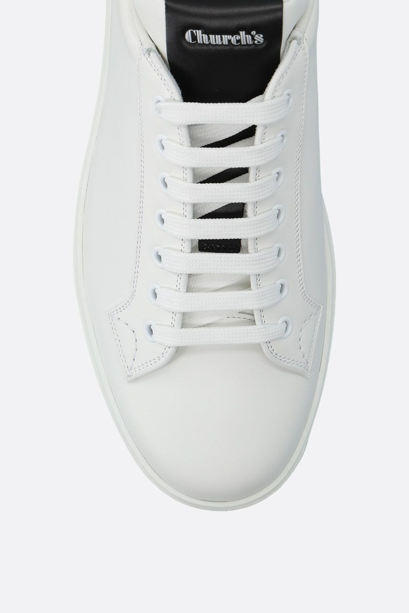 CHURCH'S: Boland Plus 2 sneakers in bicolour leather Color Grey_4