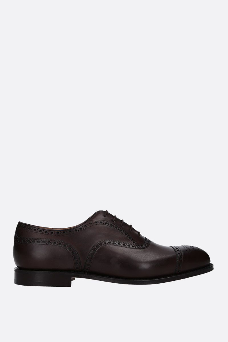 CHURCH'S: Diplomat oxford shoes in Nevada leather Color Brown_1