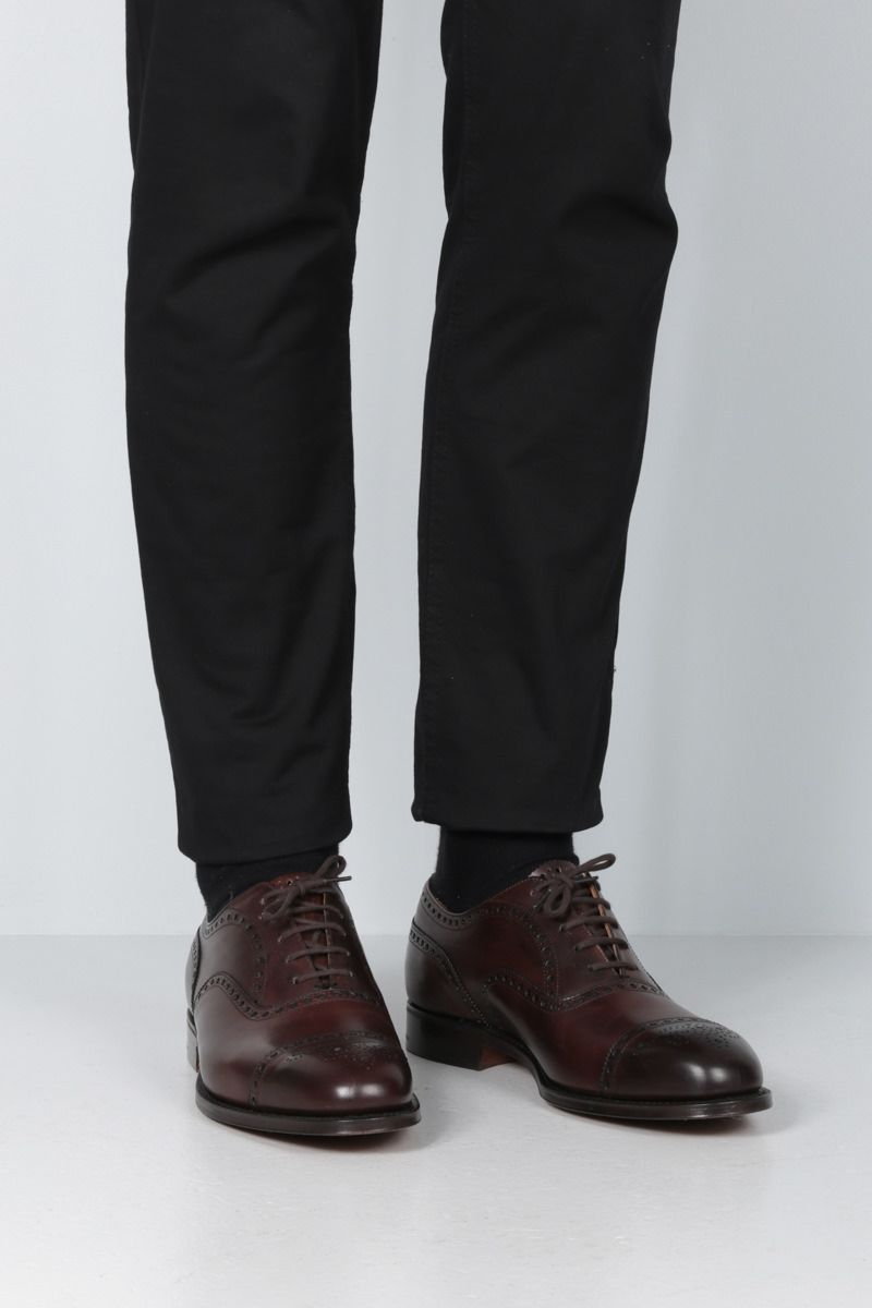 CHURCH'S: Diplomat oxford shoes in Nevada leather Color Brown_2