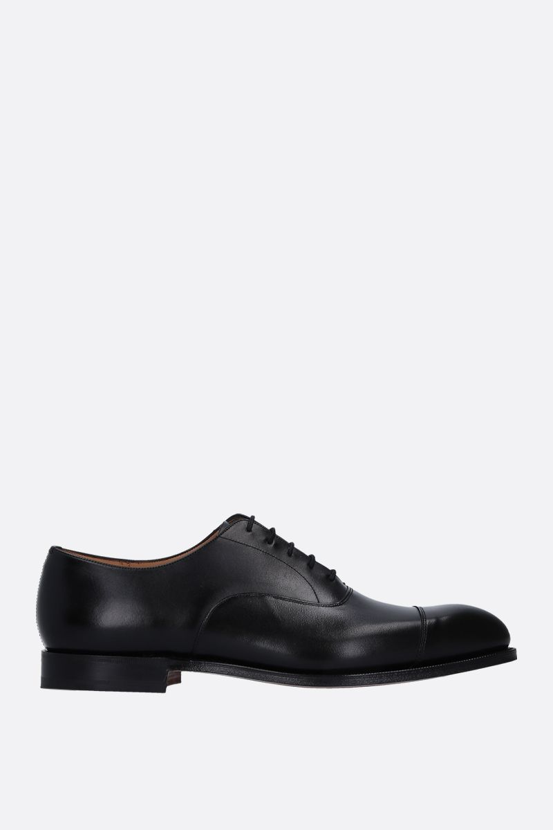 CHURCH'S: Consul 173 oxford shoes in brushed calf Color Black_1