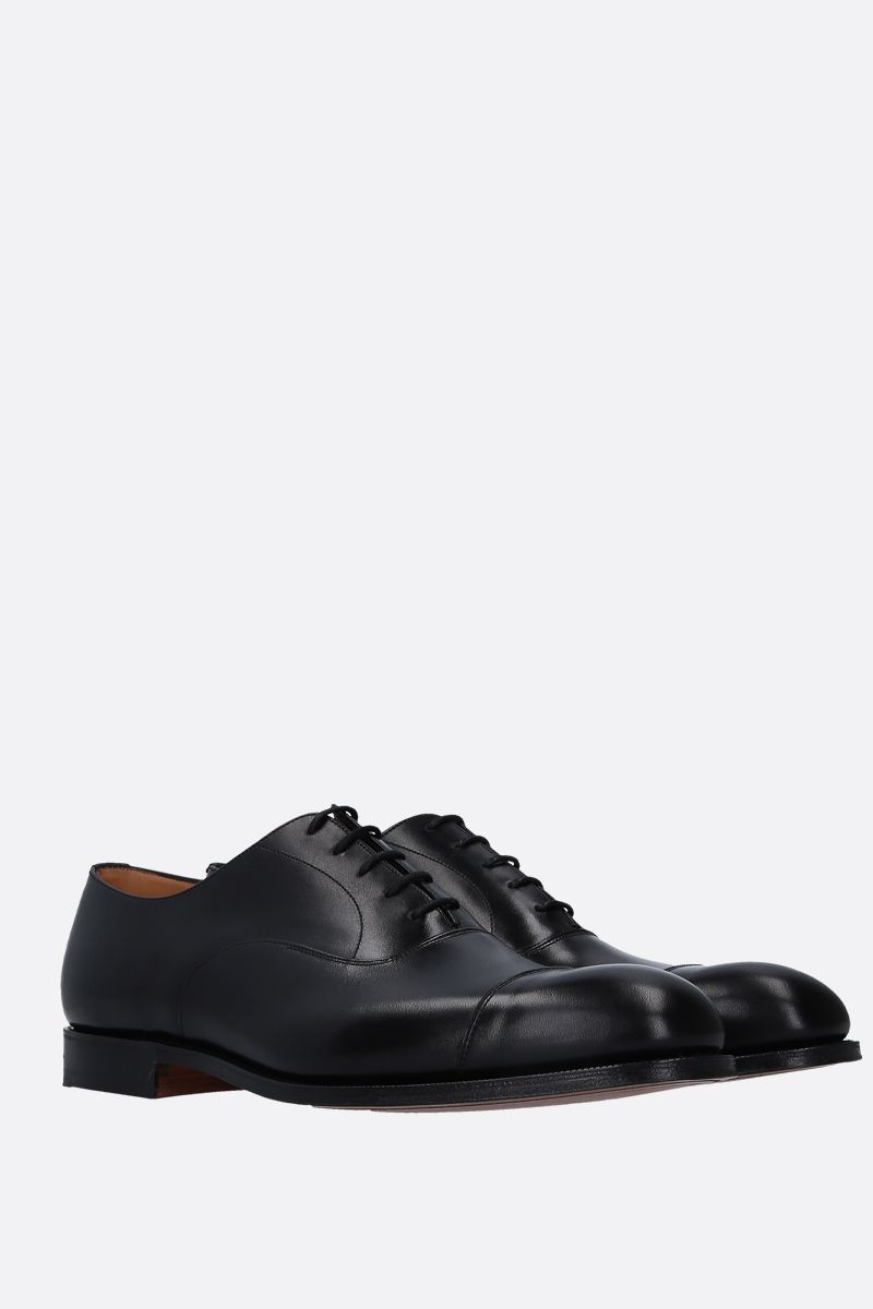CHURCH'S: Consul 173 oxford shoes in brushed calf Color Black_2