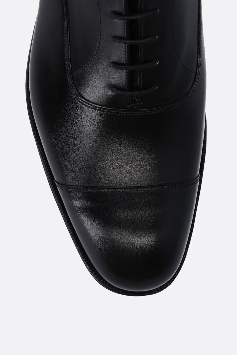 CHURCH'S: Consul 173 oxford shoes in brushed calf Color Black_4