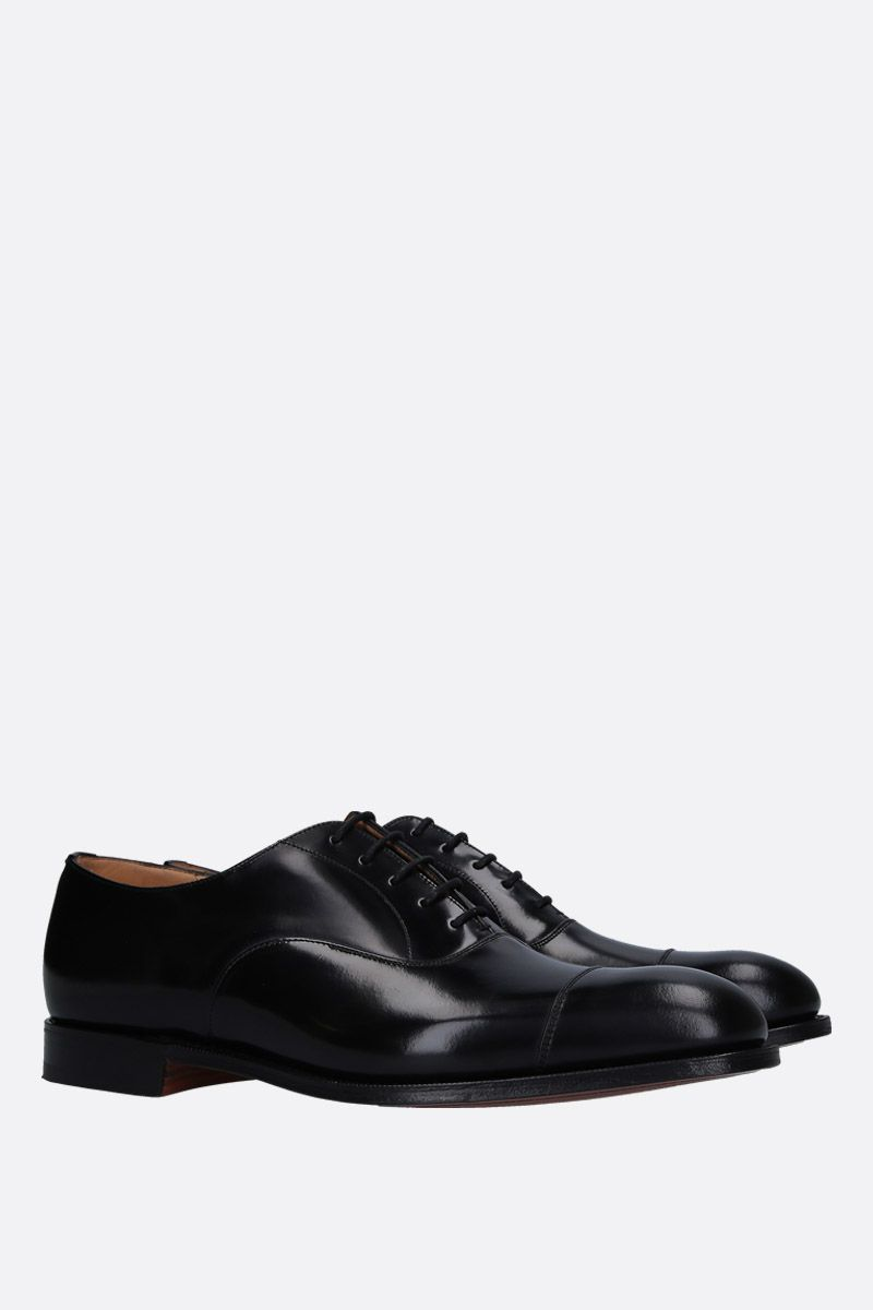 CHURCH'S: Consul 173 oxford shoes in shiny leather Color Black_2