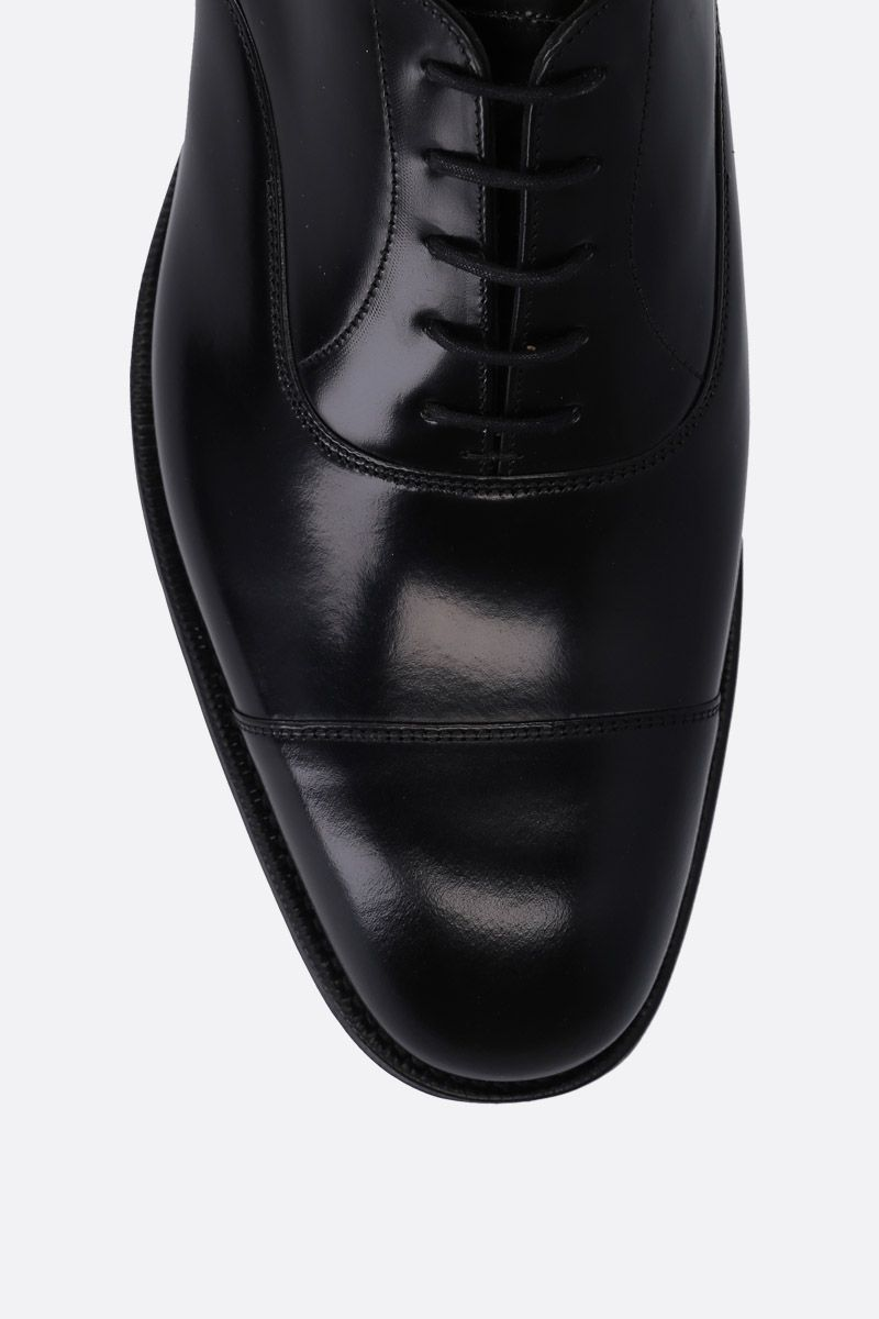 CHURCH'S: Consul 173 oxford shoes in shiny leather Color Black_4
