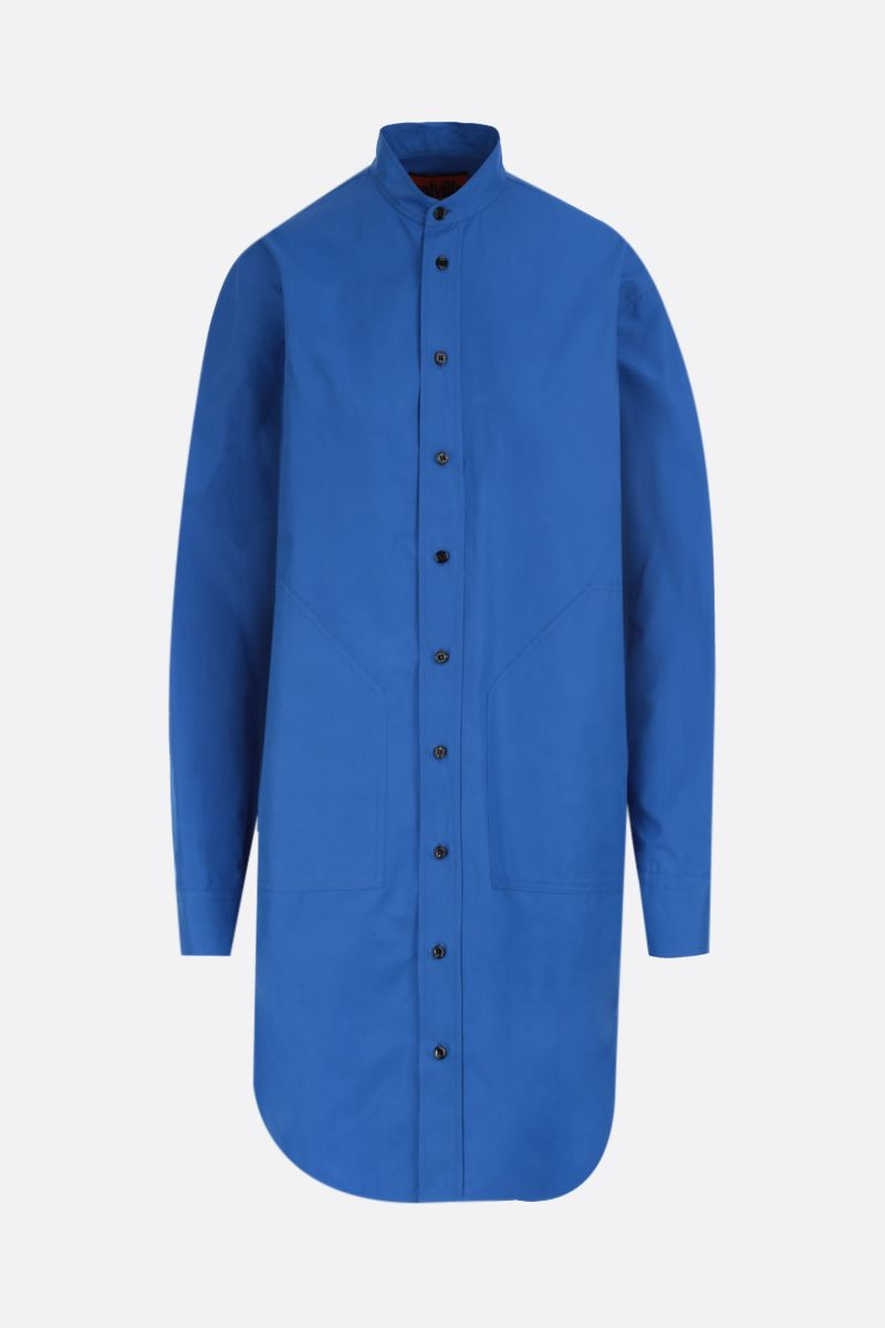 COLVILLE: oversized cotton shirt Color Blue_1