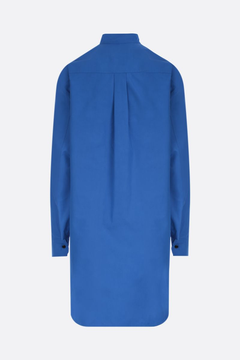 COLVILLE: oversized cotton shirt Color Blue_2