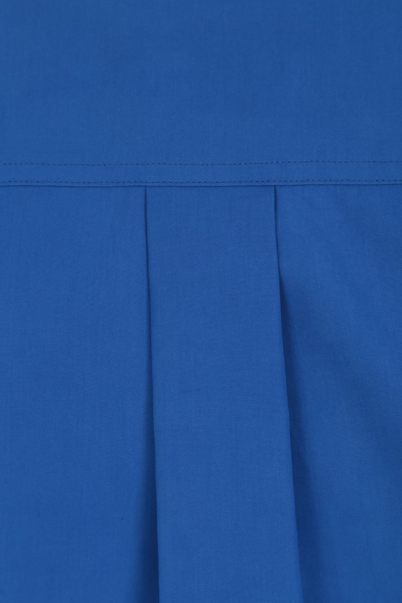 COLVILLE: oversized cotton shirt Color Blue_3