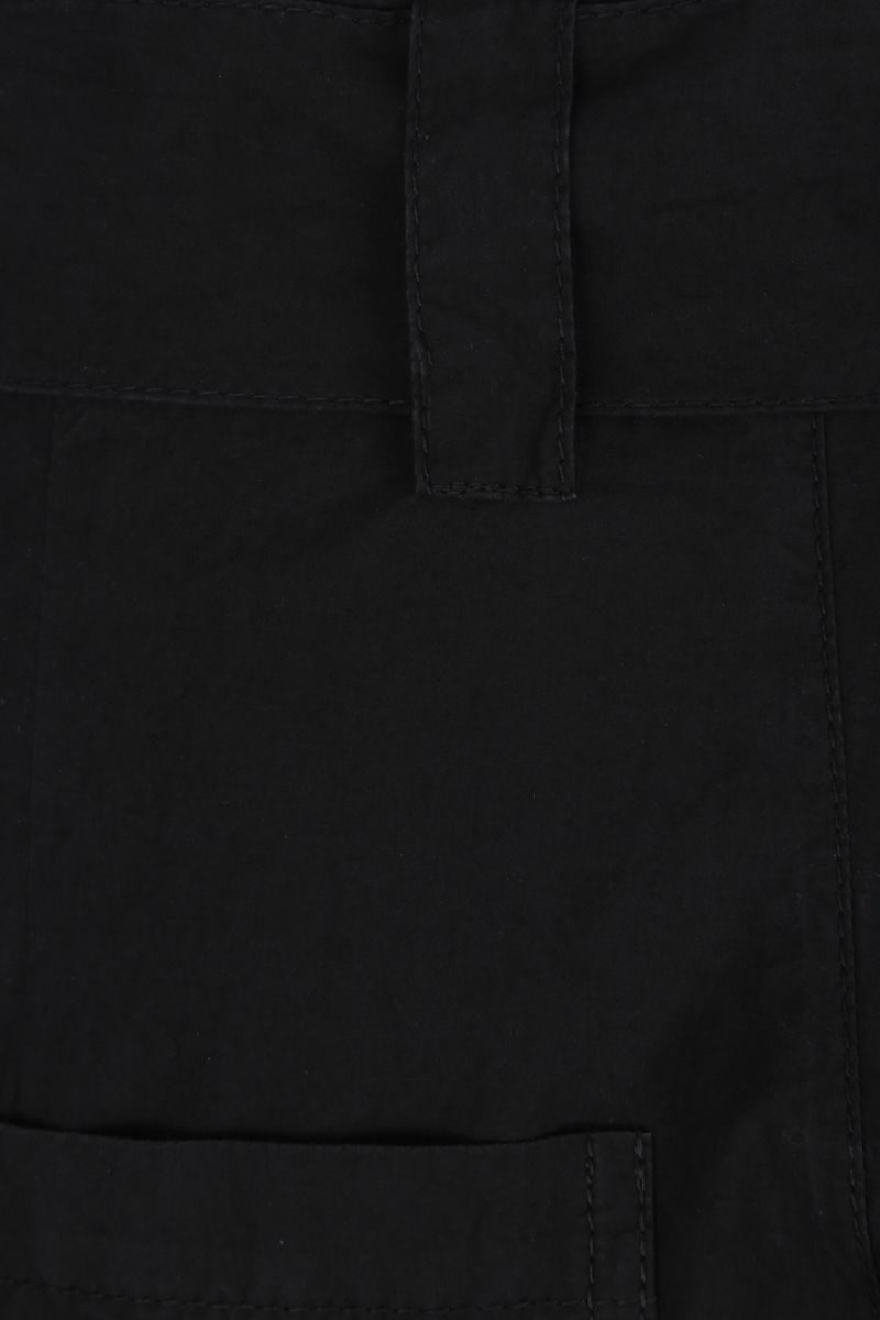 COLVILLE: cotton destructured pants Color Black_3
