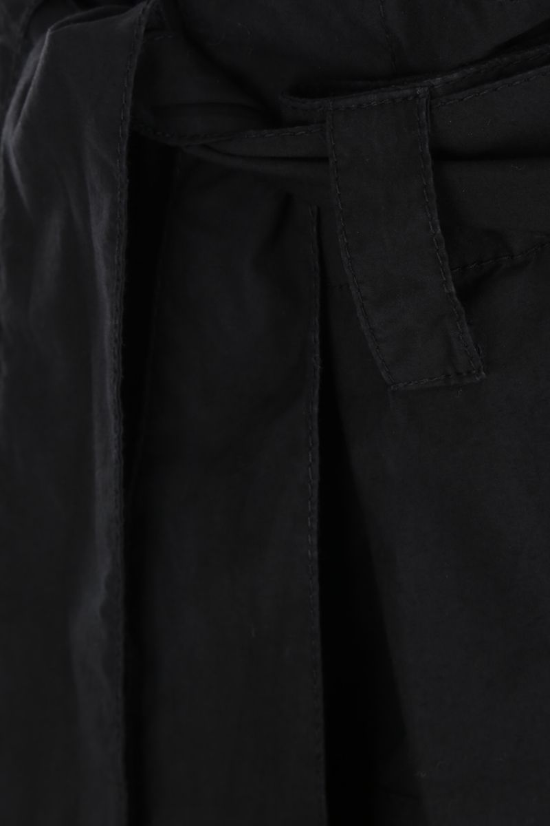 COLVILLE: cotton destructured pants Color Black_4