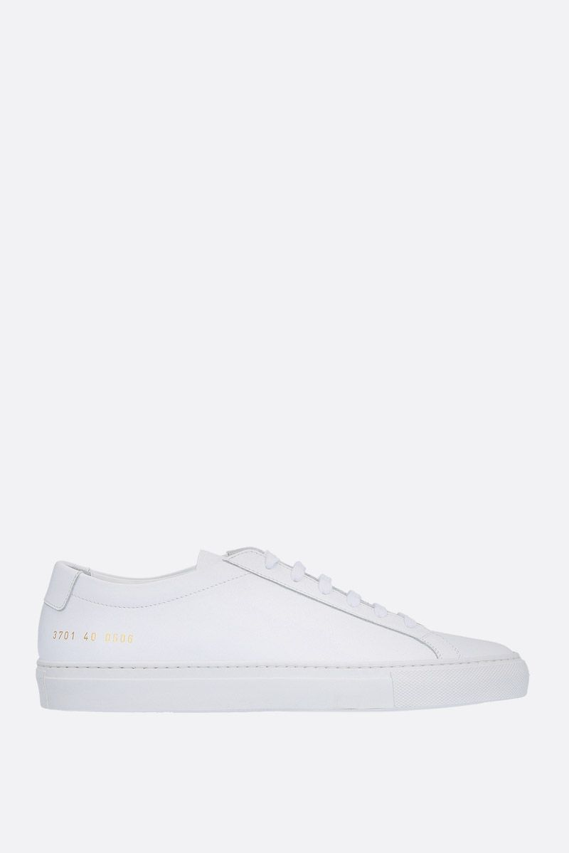 COMMON PROJECTS: sneaker Original Achilles in pelle liscia Colore Bianco_1