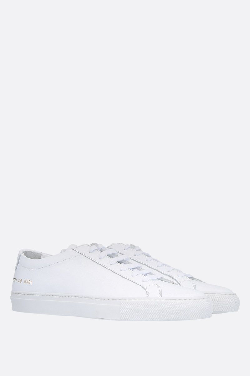 COMMON PROJECTS: sneaker Original Achilles in pelle liscia Colore Bianco_2