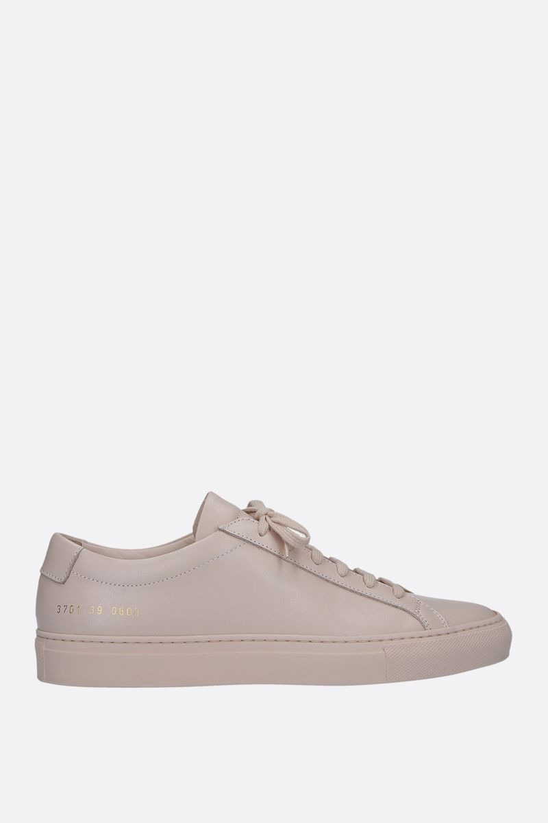 COMMON PROJECTS: Original Achilles sneakers in smooth leather Color Neutral_1