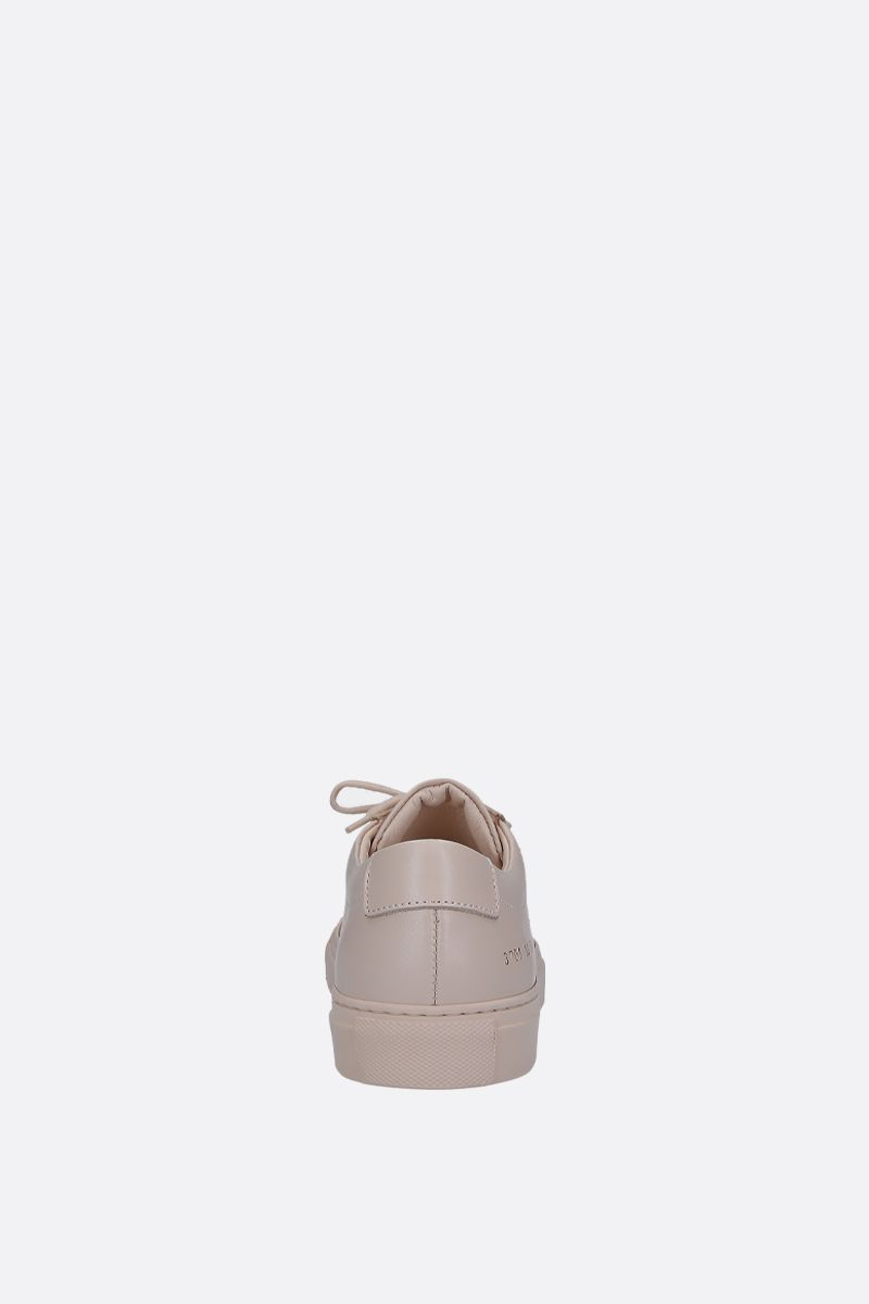 COMMON PROJECTS: Original Achilles sneakers in smooth leather Color Neutral_3