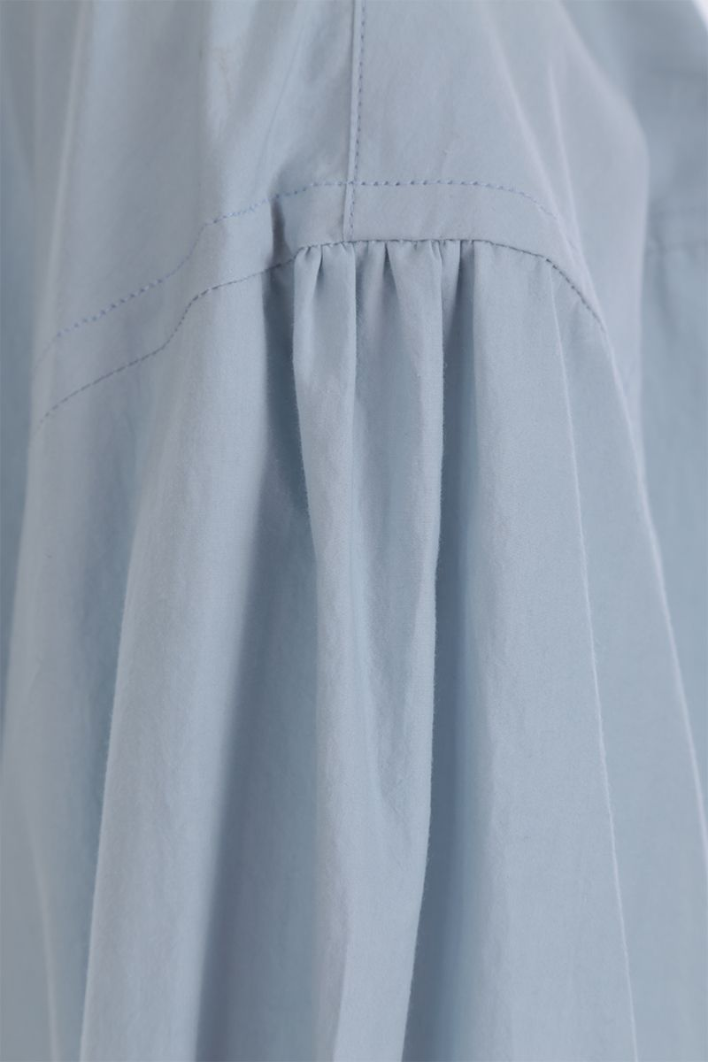 DEVEAUX: Bettina cotton shirt Color Blue_5